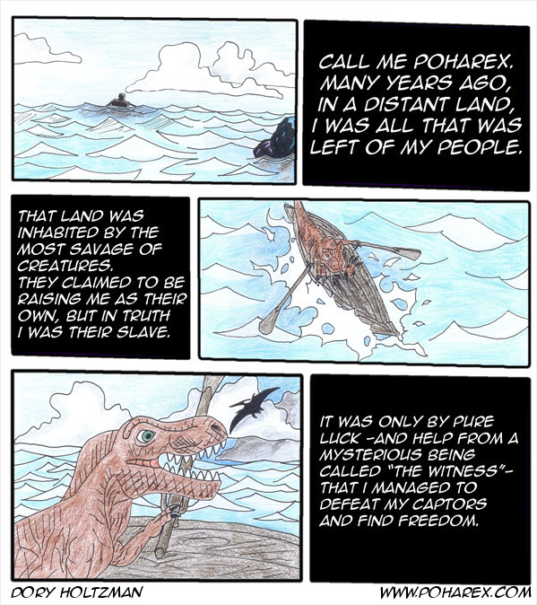 Poharex Issue #1 Page #1