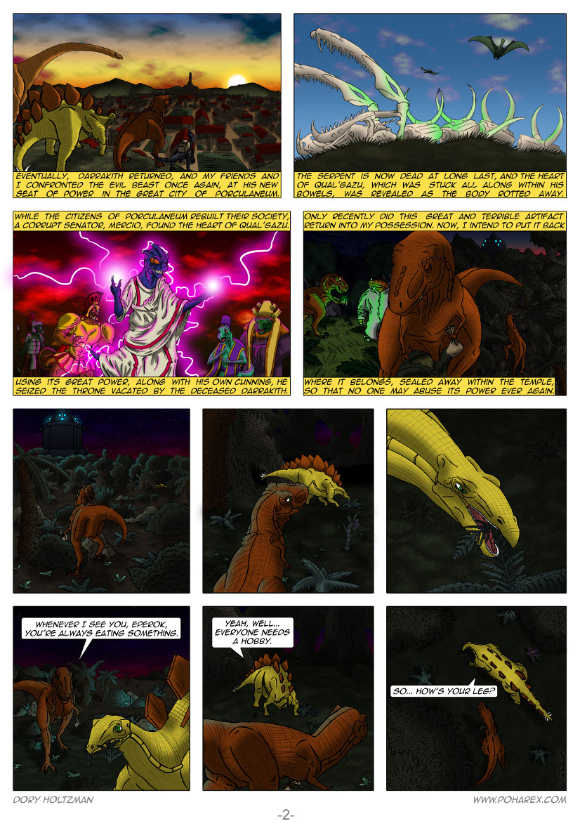 Poharex Issue #12 Page #2
